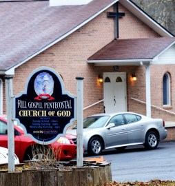 A Full Gospel Pentecostal Church of God, about a half mile from the previous Faith Holiness Church.
