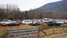 Small automobile graveyards dot the rural regions.