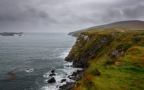 Coastline along the Kerry Peninsula, near Valentia Island.