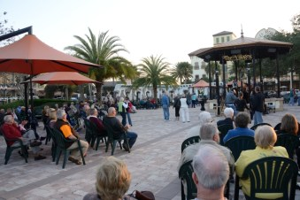 An evening concert/dance at The Villages