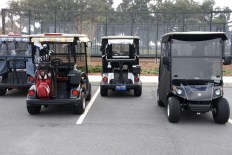 Golf carts, electric and gas, are everywhere. Special roads allow the carts access to virtually all destinations in The Villages.