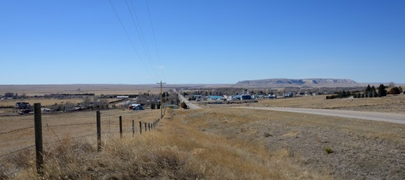 LaGrange, Wyoming, a town of about 500 in eastern Wyoming, home of the Frontier School of the Bible (about 225 students).