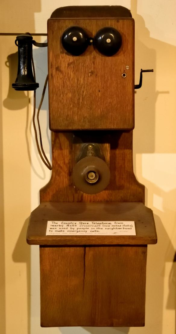 At the Ranger School, our public phone was more modern, but this one reminds me of 1963.