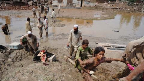 inondations pakistan septembre 2011