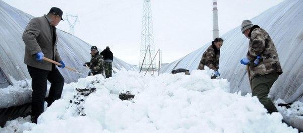chine neige 2012