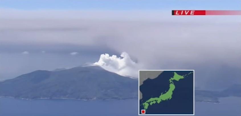 Kuchinoerabu-Island-Volcano