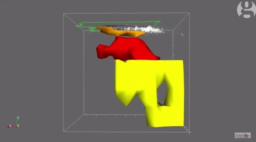 Simulation 3d de la chambre magmatique du yellowstone la - Simulation chambre 3d ...