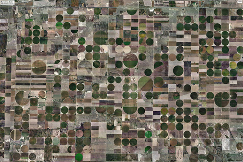 L'agriculture intensive au Kansas (USA)