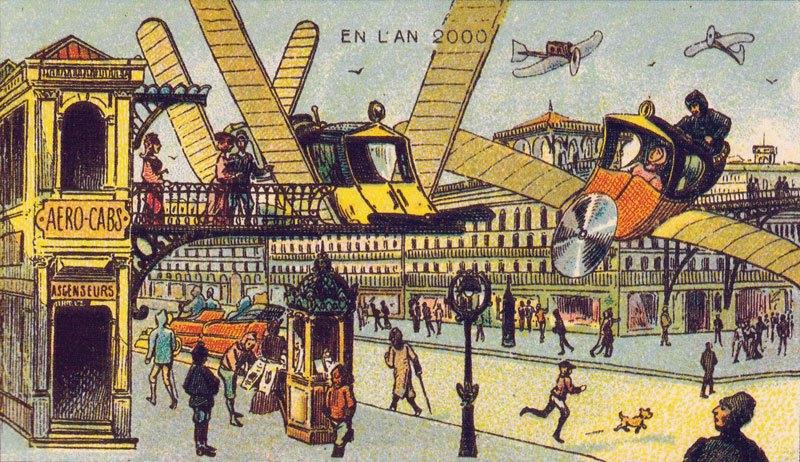 artiste-francais-de-1900-imaginant-lan-2000