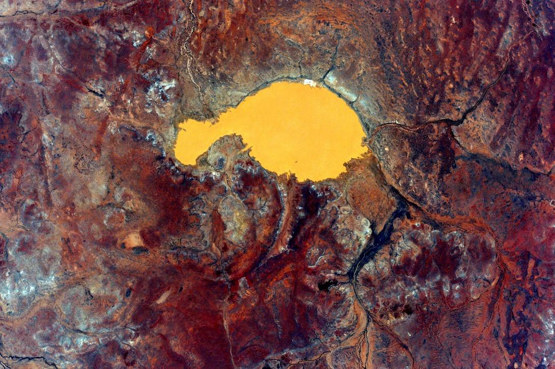 lac Arthur, en Australie, le 12 octobre 2015