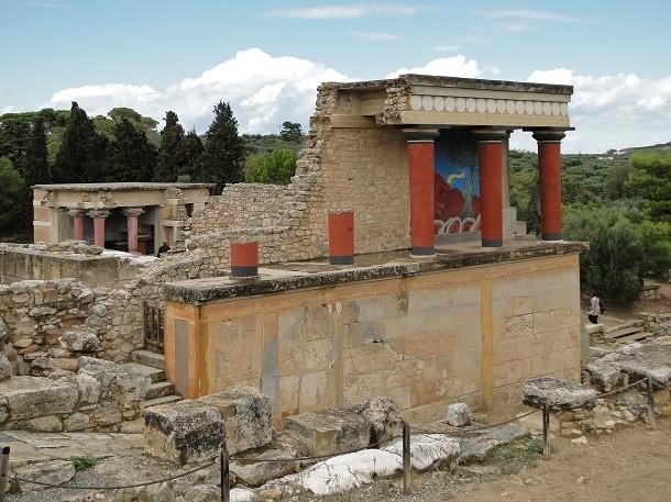 monument-Knossos, Grèce