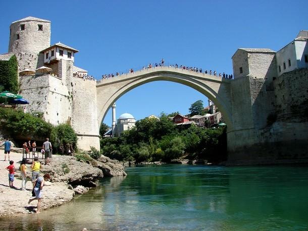 monument-Stari Most, Bosnie-Herzégovine