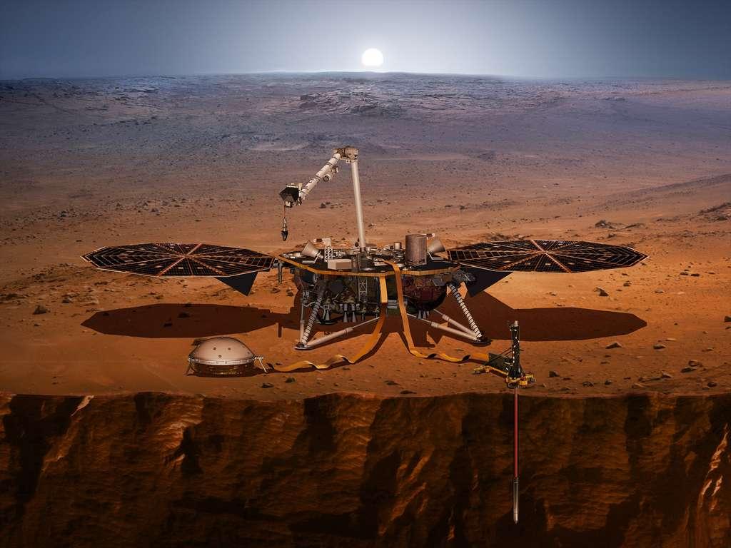 Mission InSight sur Mars