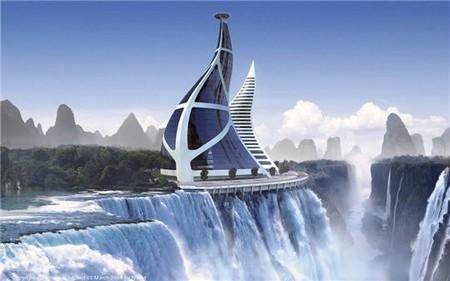 Un monde de villes futuristes la terre du futur for Various architectural concepts