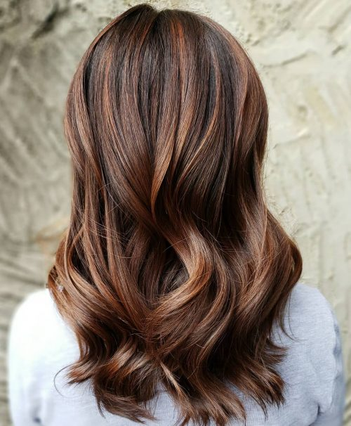 Reddish Light Brown Hair