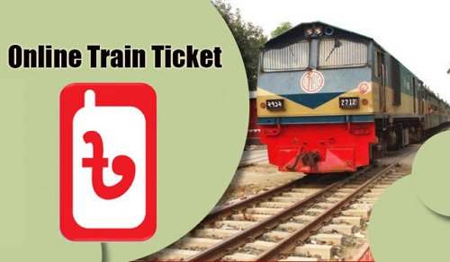 Online train tickets
