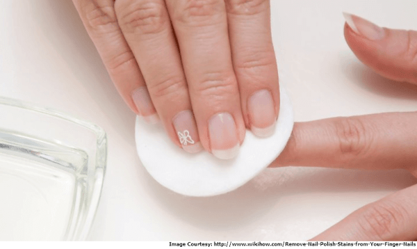 Clean your Nails and Remove Nail Polish