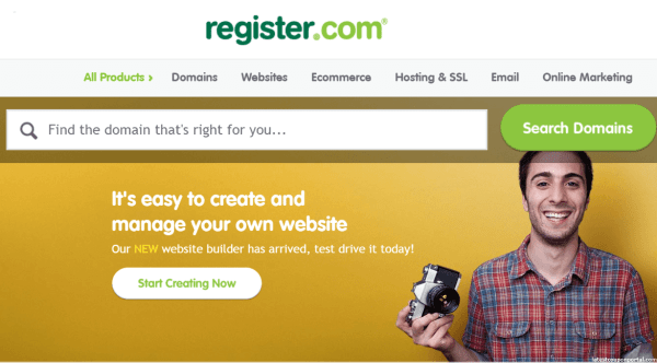 Register your domain name online