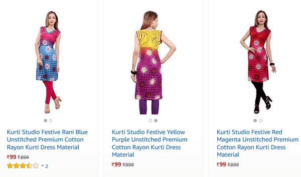 Indian Kurtis Online Sale