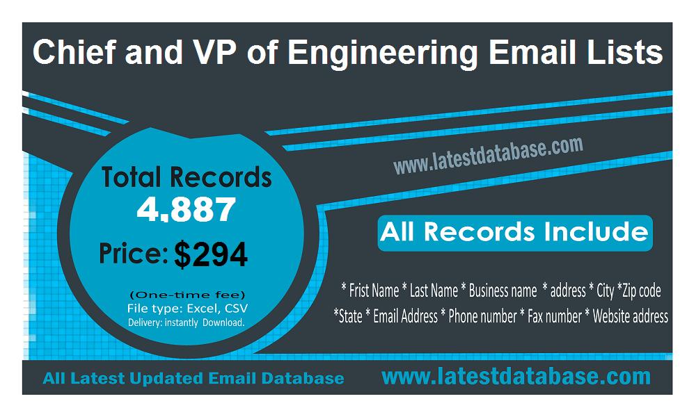 Шеф и потпредседник инжењерских листа за е-пошту