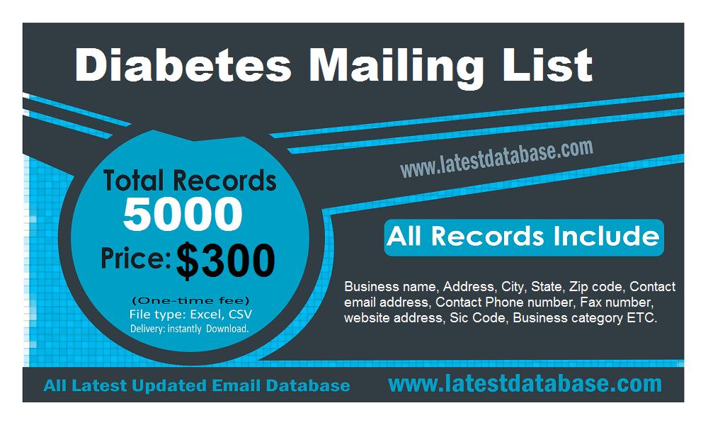 Diyabet Posta Listesi