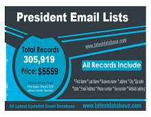 Business President email list