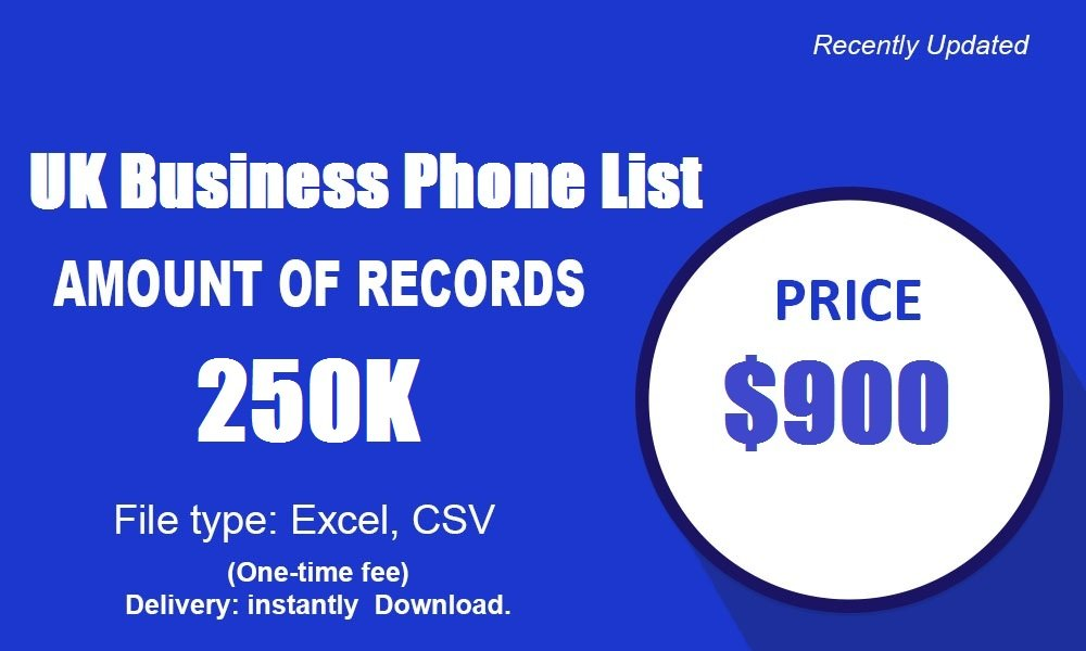 यूके बिजनेस फोन सूची