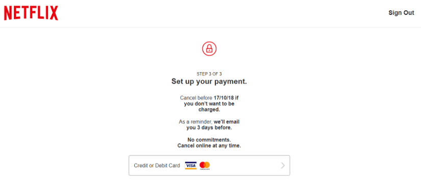 Free netflix accounts payment