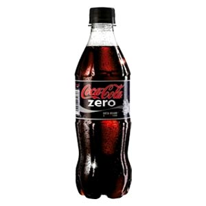 free 500ml bottle of coke zero