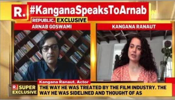 Kangana Speak with Arnab