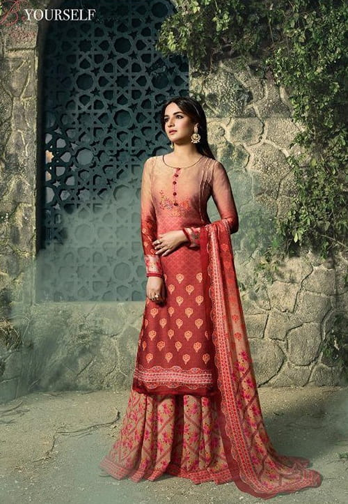 Georgette Palazzo Suits
