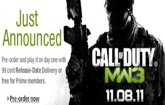 Call of Duty: MW3 release date 1