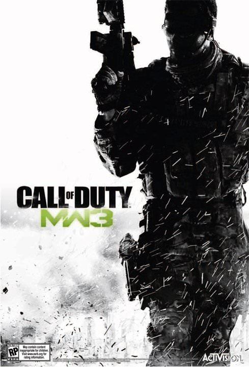 Call of Duty MW3 Box Art 1