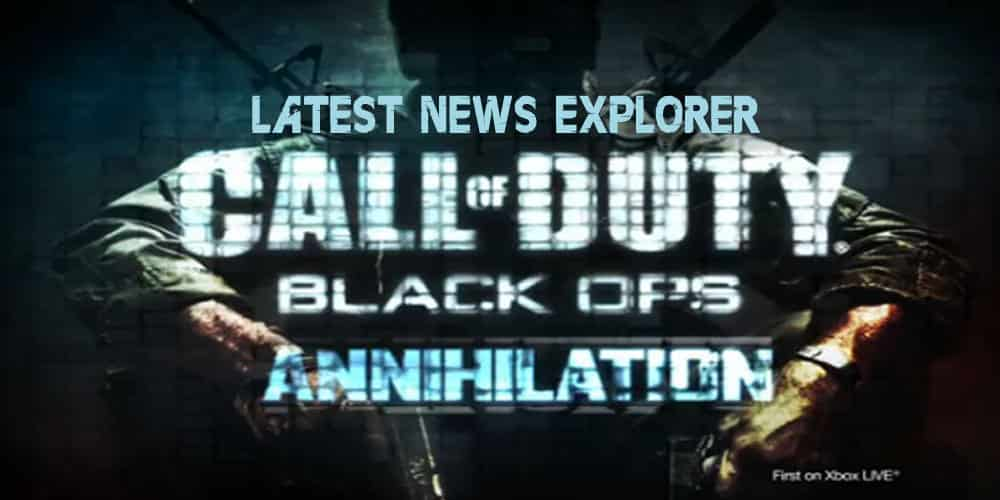 Call of Duty: Black Ops Annihilation New DLC Trailer