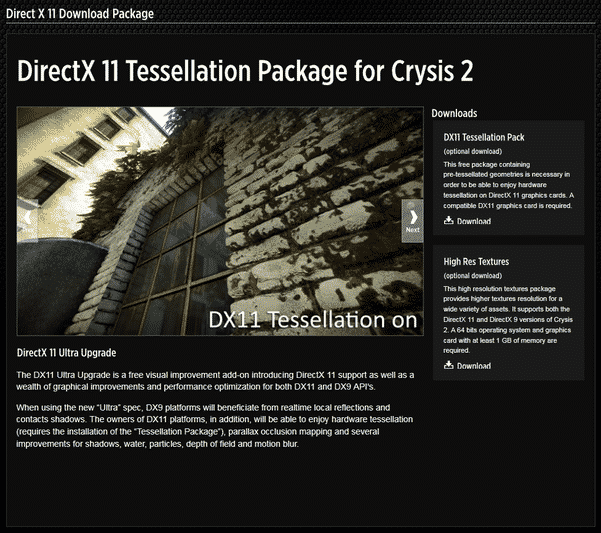 Crysis 2 DX11 Update Details 1