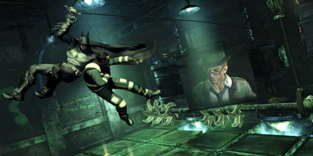 Batman: Arkham City Gameplay video