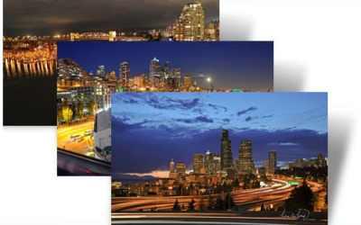 City Lights theme for Windows 7