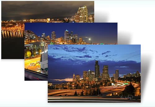 City Lights theme for Windows 7