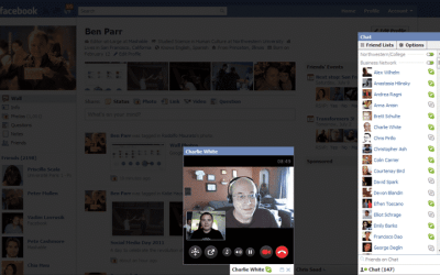 Facebook Launches Skype-Powered Video Calling