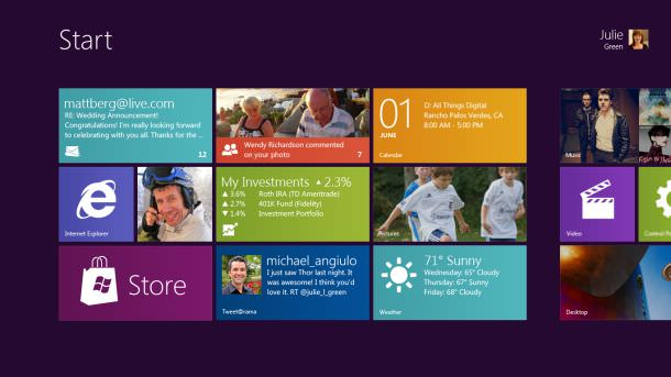 Windows 8 coming Fall 2012