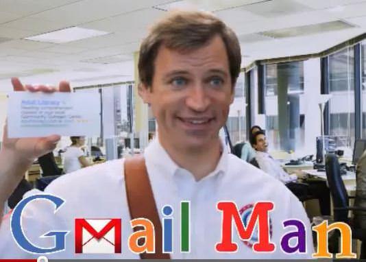 The Gmail Man : Microsoft Parody Video