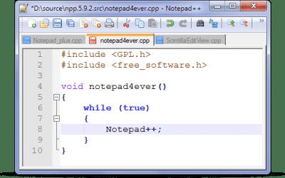 Notepad++ 5.9.4