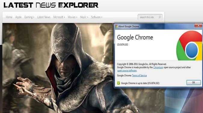Google Chrome 15
