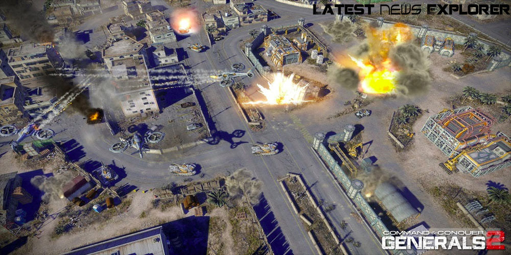 VGA 2011: Command And Conquer Generals 2 Exclusive Teaser