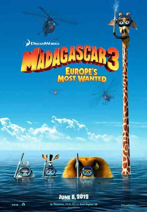 Madagascar 3 – Official Trailer