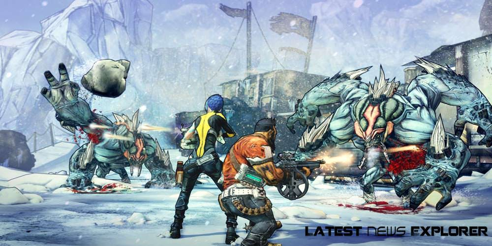 Borderlands 2 Features Enemies Dropping From Moon