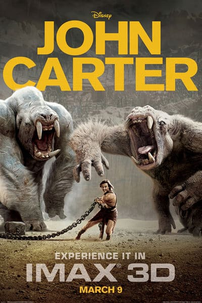 John Carter Super Bowl XLVI: Extended Trailer