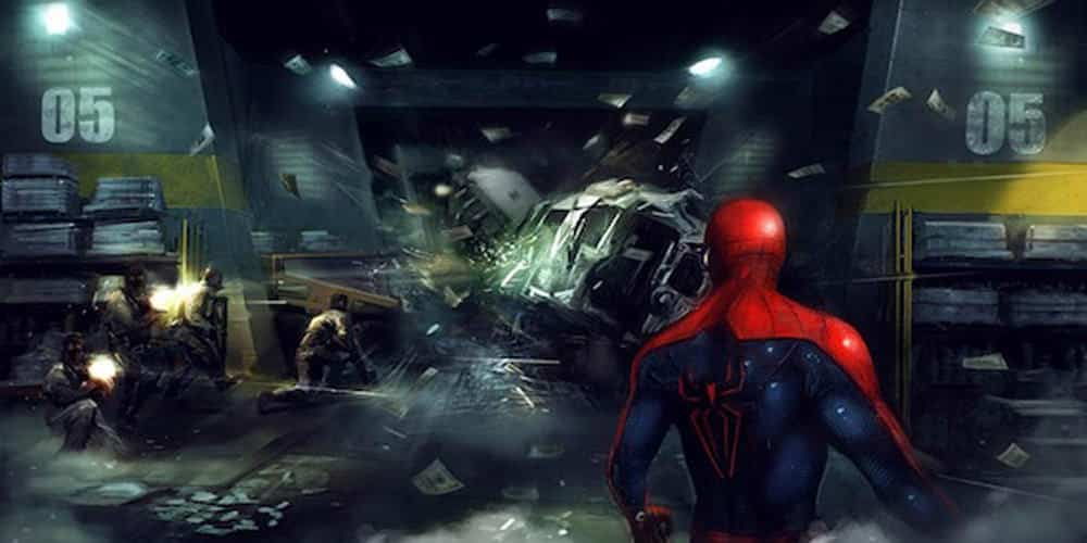 Spider-Man: Homecoming Concept Art Unveiled