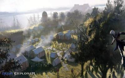 New Assassin's Creed III Leaked Screens Gives A Beautiful Look At The Game