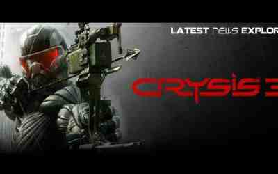 First Crysis 3 Screen Leaked